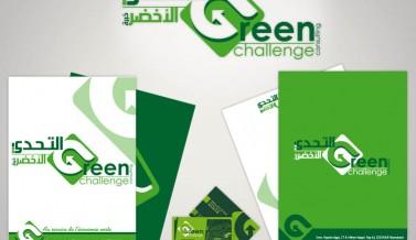 Identité visuelle de la société GREEN CHALLENGE CONSULTING