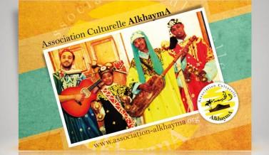 Flyer pour l'association AL KHAYMA