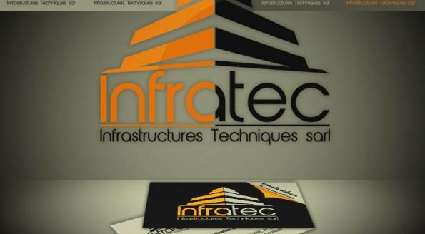 identité visuelle de la société INFRATEC
